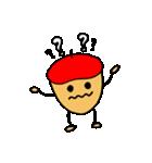赤いベレー帽の、ドン・ぐりお(個別スタンプ:24)