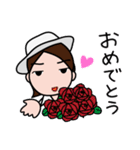 昭和なアイドル1(個別スタンプ:23)