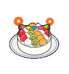 動く!光る! 33歳~48歳の誕生日ケーキ(個別スタンプ:06)