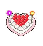 動く!光る! 33歳~48歳の誕生日ケーキ(個別スタンプ:07)