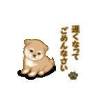 よちよち秋田犬2(心遣い)(個別スタンプ:13)