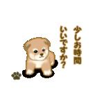 よちよち秋田犬2(心遣い)(個別スタンプ:15)