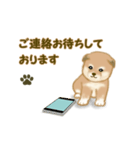 よちよち秋田犬2(心遣い)(個別スタンプ:17)