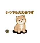 よちよち秋田犬2(心遣い)(個別スタンプ:27)