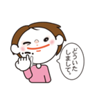 手話スタンプバージョン1(個別スタンプ:3)