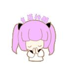 ヲタクな女の子(個別スタンプ:02)
