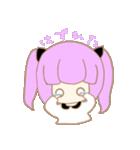 ヲタクな女の子(個別スタンプ:04)