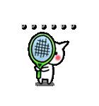 かわいいテニスのバイリンガルスタンプ(個別スタンプ:31)