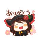 黒ずきんちゃんと銀色のおおかみさん(個別スタンプ:05)