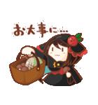 黒ずきんちゃんと銀色のおおかみさん(個別スタンプ:36)