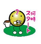 最恐ゴルフ部のスタンプ3(個別スタンプ:02)