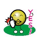 最恐ゴルフ部のスタンプ3(個別スタンプ:21)