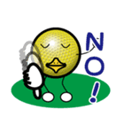 最恐ゴルフ部のスタンプ3(個別スタンプ:22)