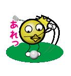 最恐ゴルフ部のスタンプ3(個別スタンプ:35)