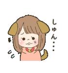 ◎忠犬彼女◎(個別スタンプ:03)