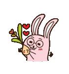 はきはきしたウサギ(個別スタンプ:02)