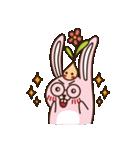 はきはきしたウサギ(個別スタンプ:03)