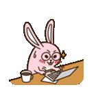 はきはきしたウサギ(個別スタンプ:08)