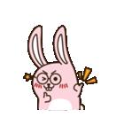 はきはきしたウサギ(個別スタンプ:18)