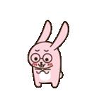 はきはきしたウサギ(個別スタンプ:21)