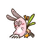 はきはきしたウサギ(個別スタンプ:23)