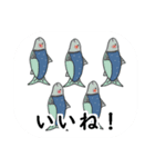 くま・キツネ・ネコものがたり(個別スタンプ:05)