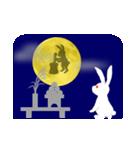月うさぎ (よく使う言葉と心遣い)(個別スタンプ:1)