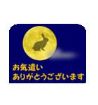 月うさぎ (よく使う言葉と心遣い)(個別スタンプ:11)