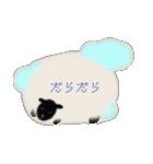 羊のシンプルスタンプ(個別スタンプ:12)