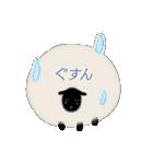 羊のシンプルスタンプ(個別スタンプ:21)