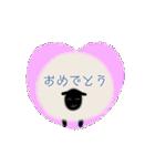 羊のシンプルスタンプ(個別スタンプ:29)