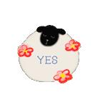 羊のシンプルスタンプ(個別スタンプ:33)