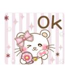 オシャレ女子✨ぱんにゃの趣味スタンプ(個別スタンプ:03)