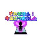 妖精と虹色ガラス文字(個別スタンプ:14)