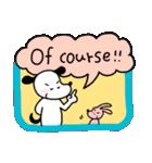 WanとBoo (英語編)(個別スタンプ:09)