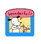 WanとBoo (英語編)(個別スタンプ:11)