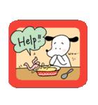 WanとBoo (英語編)(個別スタンプ:22)