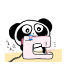ぱんだのぴ〜ちゃん♪ ソーイング♡New(個別スタンプ:18)