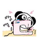 ぱんだのぴ〜ちゃん♪ ソーイング♡New(個別スタンプ:19)