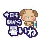 子犬と子猫の【真夏&秋】(個別スタンプ:02)