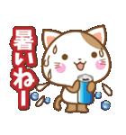 子犬と子猫の【真夏&秋】(個別スタンプ:03)