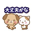 子犬と子猫の【真夏&秋】(個別スタンプ:06)