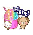 子犬と子猫の【真夏&秋】(個別スタンプ:07)