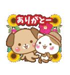 子犬と子猫の【真夏&秋】(個別スタンプ:21)