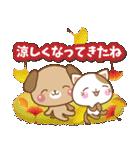 子犬と子猫の【真夏&秋】(個別スタンプ:38)