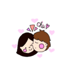 pikahuwa couple!(個別スタンプ:04)