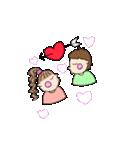 pikahuwa couple!(個別スタンプ:10)