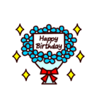 【動く★HAPPY BIRTHDAY】シンプルめ(個別スタンプ:04)