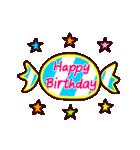 【動く★HAPPY BIRTHDAY】シンプルめ(個別スタンプ:06)