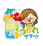 かわいい主婦の1日【さわやかサマー編】(個別スタンプ:05)